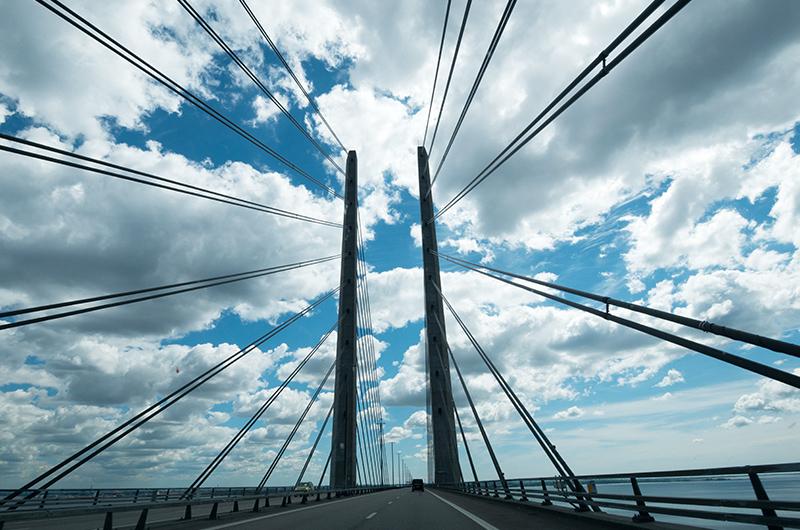 Überfahrt der Öresundbrücke