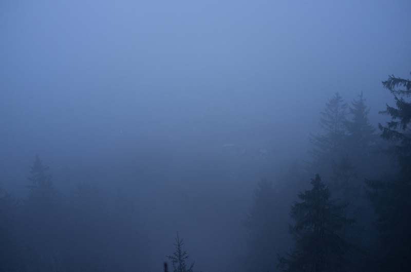 Stellen Sie sich hier den wunderschönen Ausblick auf Salzburg vor...
