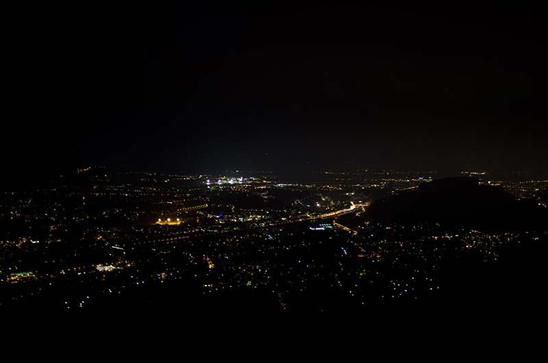 Blick auf Salzburg - unvernebelt!