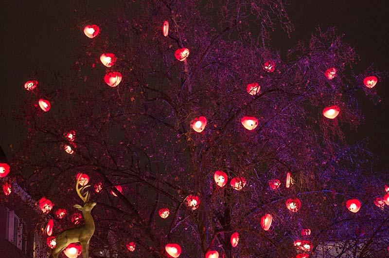 Weihnachtliche Dekoration - Kölner Art